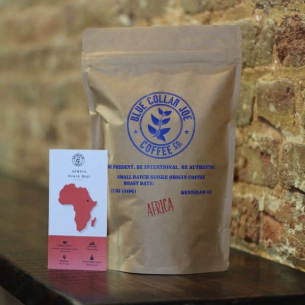 Bag of coffee from Africa