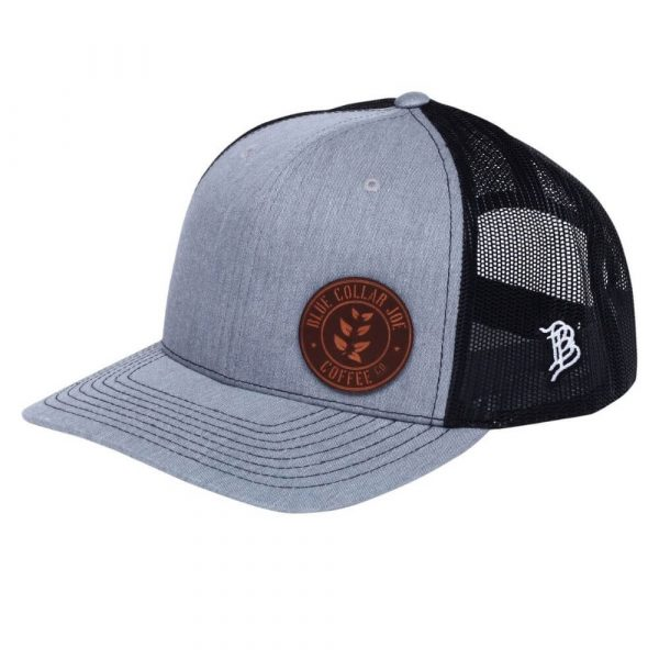 Blue Collar Joe curved bill trucker hat