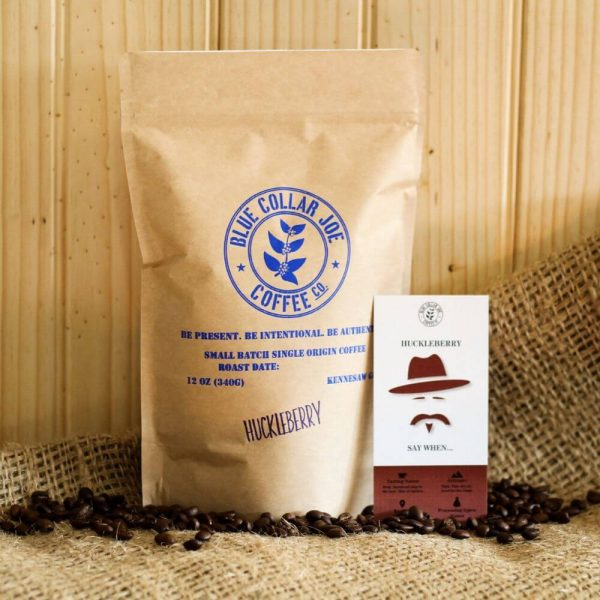 Coffee Bag and Beans